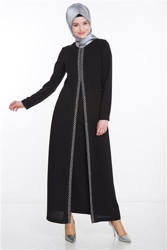 Elbise-Siyah KA-A8-23021-12