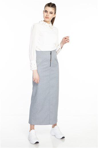 Skirt-Indigo TK-M3065-07