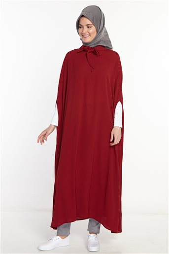 Poncho-Claret Red 2567-67