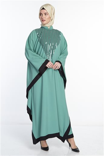 Poncho-Medium Sea Green 41109-102