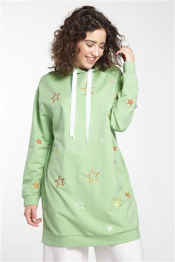 Sweatshirt-Yeşil 19K-MM08.0116-21