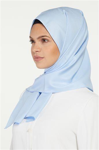 Düz Renk Fular Şal-Mavi SP-19Y-1001-70