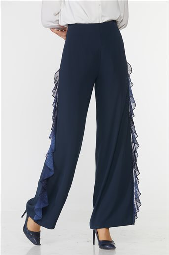 Kyr Pants-Navy Blue KY-B9-79017-11