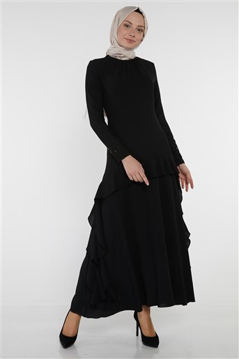 Elbise-Siyah KA-B9-23095-12
