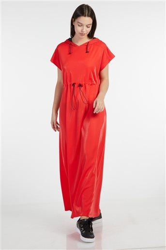 Elbise-Kırmızı KA-B9-23083-19