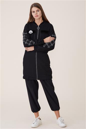 Kısa Giy-Çık-Siyah KA-A9-25026-12