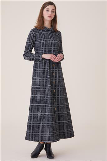 فستان-رمادي UU-9W6037-04