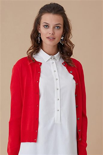 Knitwear-Red KA-A8-TRK34-19