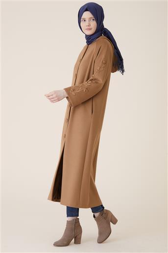 Kayra جاكيت طويل-بني ar-KA-A9-17081-06