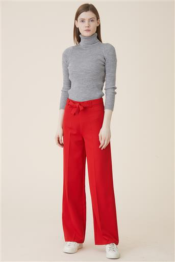 Trousers-Red 2506-34