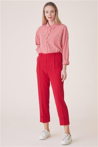 Pantolon-Kırmızı TK-U2616-11
