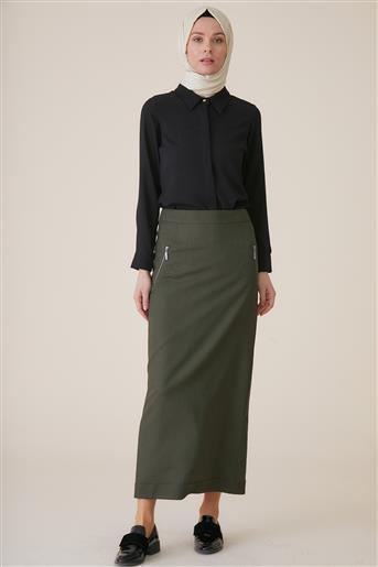 Skirt-Khaki TK-U8609-24