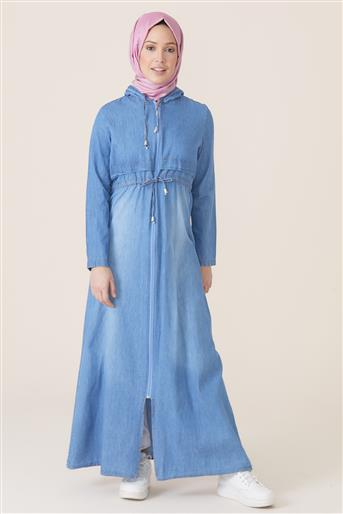Abaya-Light Blue UA-0S1036-15