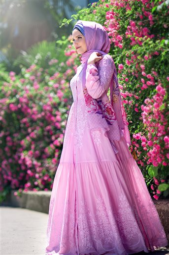 Rose Dream Elbise-Gül Kurusu 180125-53