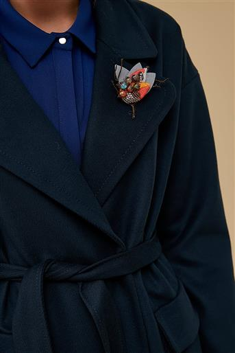 Coat-Navy Blue KA-A9-17007-11