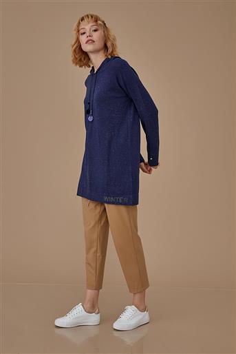 Kayra Knitwear-Navy Blue KA-A9-TRK55-11