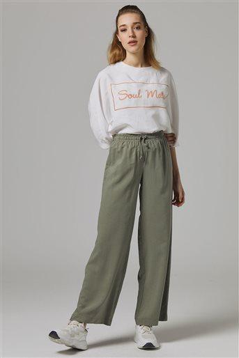 Tencel Pantolon-Yeşil DO-B20-59016-25