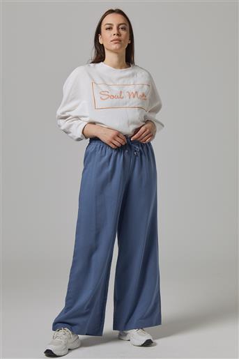 Tencel Pantolon-İndigo DO-B20-59020-39