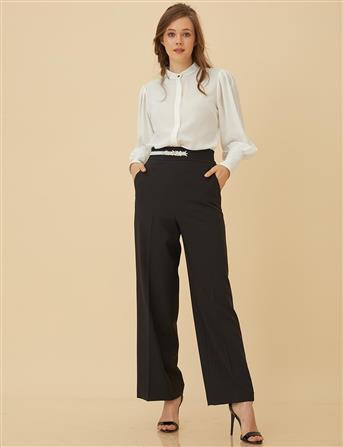 Basic Cepli Pantolon Siyah SZ 19500