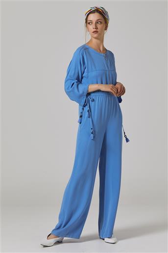 Elbise-Mavi KA-B20-22002-09