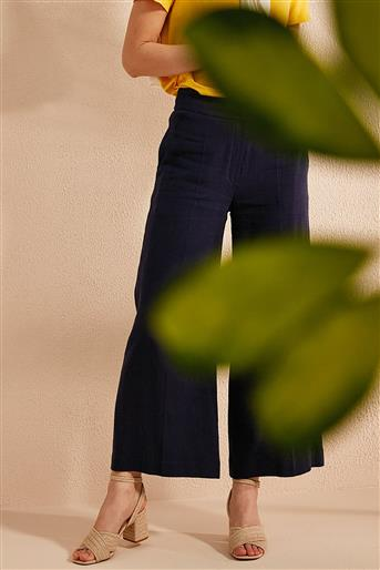 Pants-Navy Blue KA-B20-19011-11