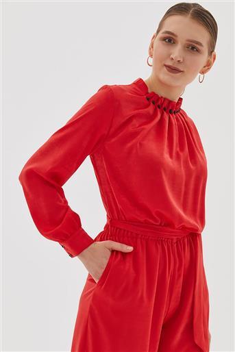 Elbise-Kırmızı KA-B20-22005-19
