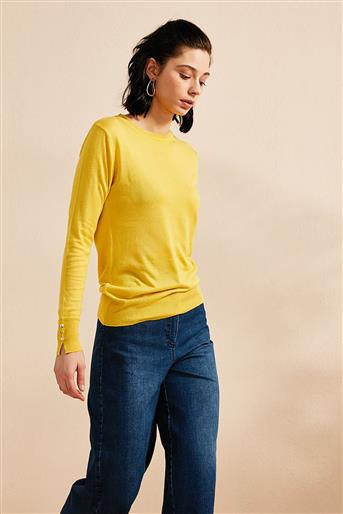 Knitwear-Yellow KA-B20-TRK05-03