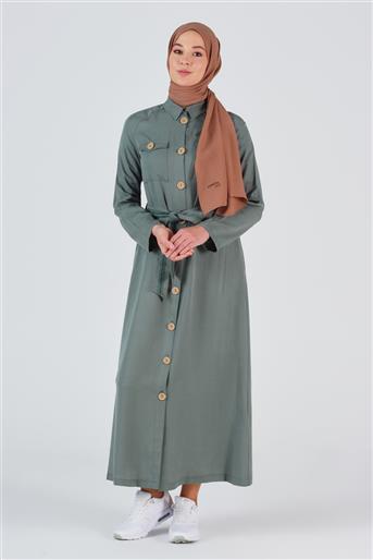 Armine Tunik Elbise Çam Yeşili 20KA9118
