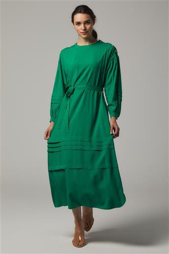 Elbise-Yeşil KA-B20-23006-25