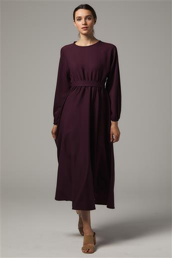 A Kesim Elbise-Siyah-Mercan UU-0S7069-51