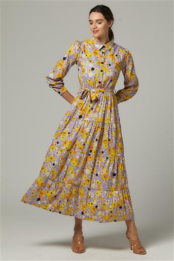 Dress-Lilac MS5162-16