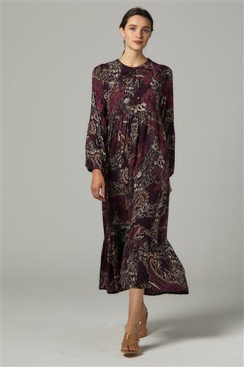 Dress-Plum US-0S5055-51