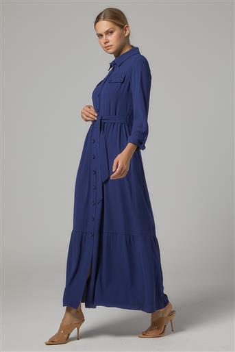 فستان-أزرق DO-B20-63009-132