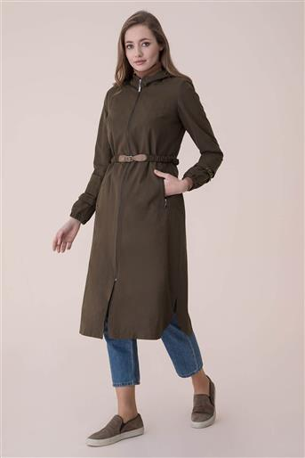 Stone Trench Coat - Khaki V18B6992