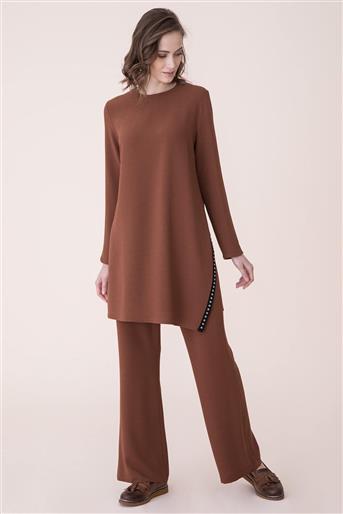 Suit-Milk Brown V19KTKM43004-37