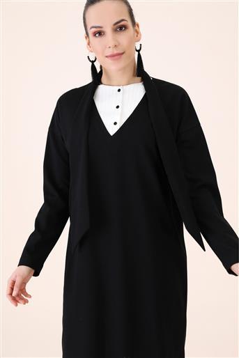 Tunik-Siyah V19KTNK45022-01