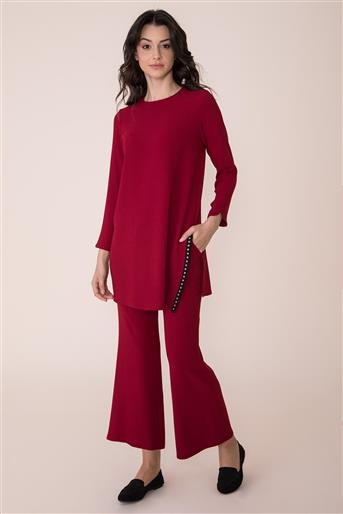 Suit-Claret Red V19KTKM43004-24