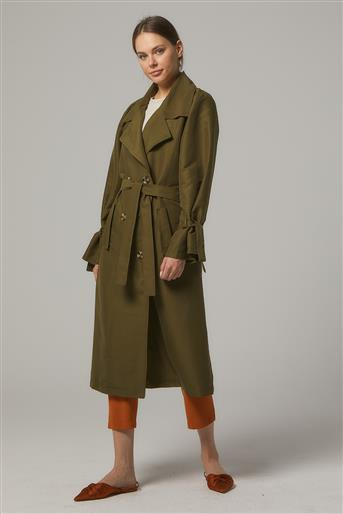 Trench Coat-Khaki PL-0W689-27