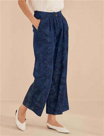 Rahat Kesim Tensel Pantolon Lacivert B20 19188