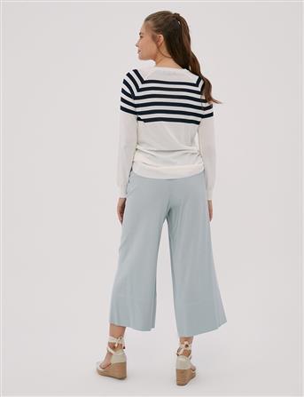 KYR Oversize Pantolon Mavi B20 79023