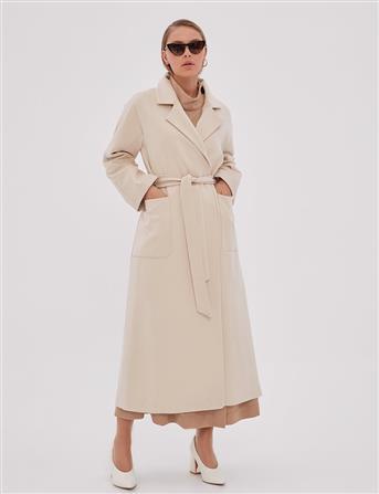 Coat-Cream KA-A20-17003-13