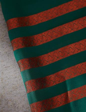 Shawl Green B9 SAL22