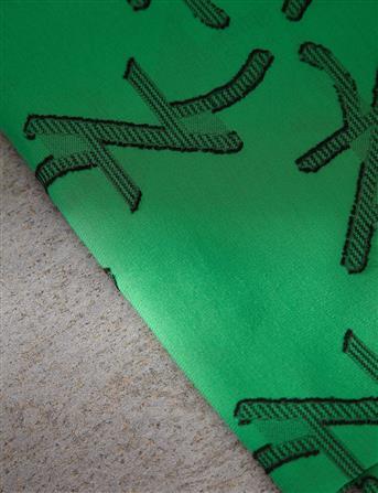 Pamuk Viskon Şal Yeşil B9 SAL29