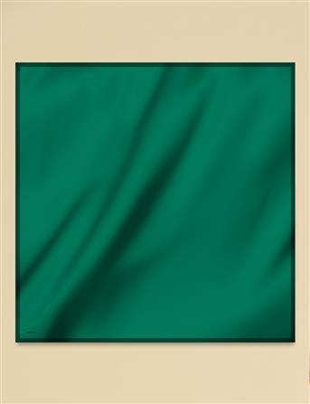 Twill Pes Eşarp Yeşil B9 ESP77