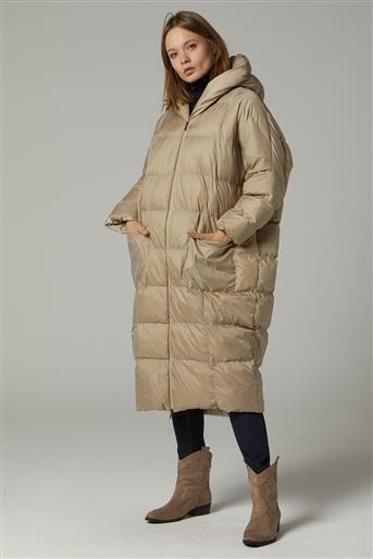 Coat-Beige MR-1453-8