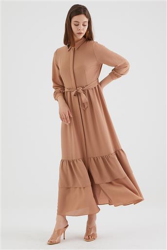 فستان-بني KA-B20-23100-20