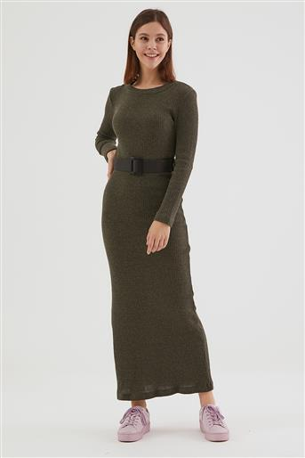 Elbise-Haki LA-0WET7001-27