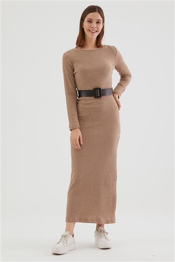 فستان-كريمي LA-0WET7001-12