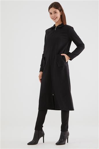 Coat-Black 2465F-01