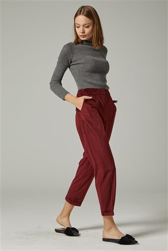 Pants-Claret Red-TK-T7170-30